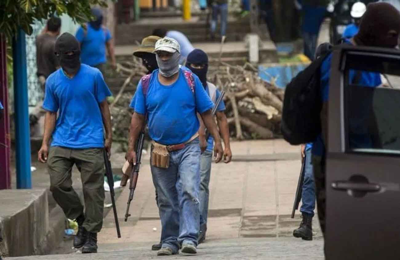 Paramilitares Nicaragua