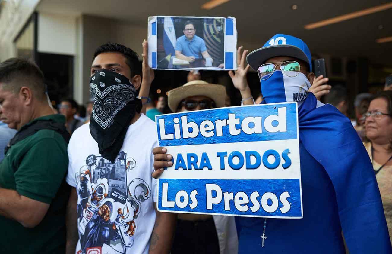 Presos Políticos - Foto: Carlos Herrera - Confidencial
