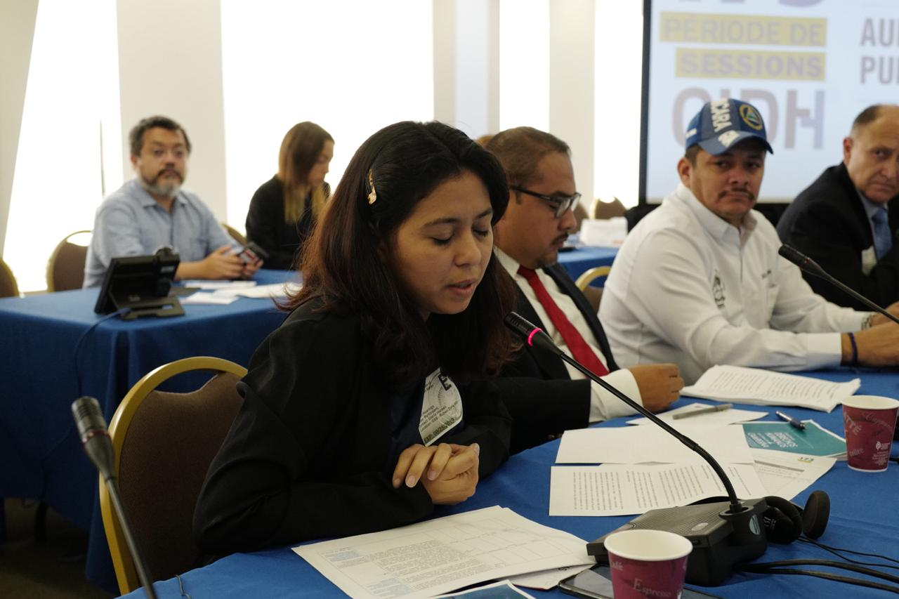 Colectivo Nicaragua nunca+ CIDH