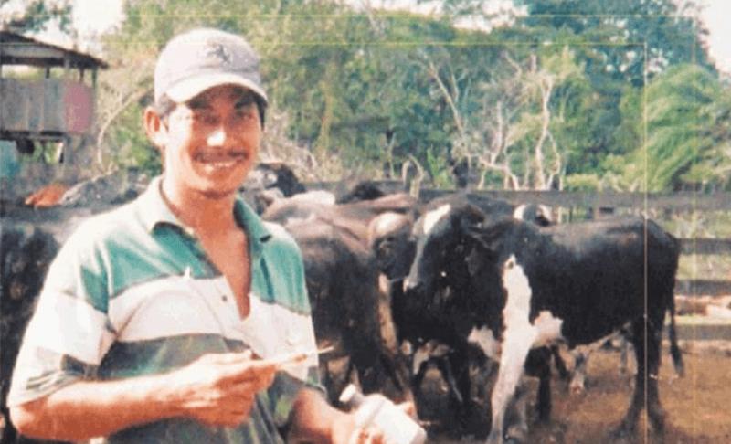 Campesinos en Nicaragua