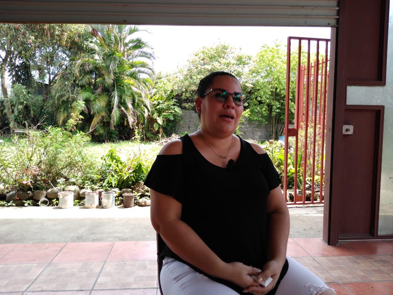 Lidia Úbeda, madre en el exilio