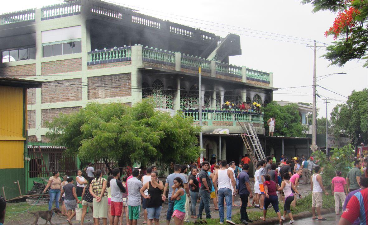 casa quemada LP