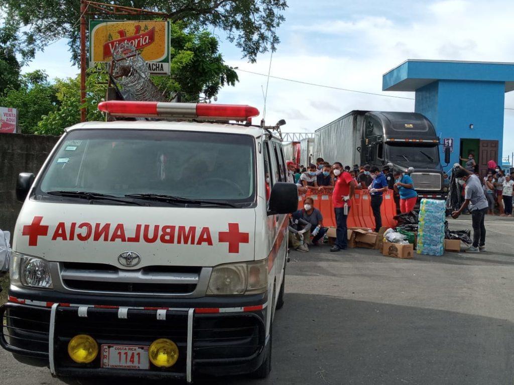 Atención de Cruz Roja Costarricense