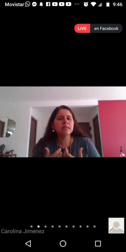 Carolina Jiménez, Directora Adjunta de Investigaciones para las Américas de Amnistía Internacional (A.I.)