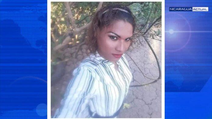 Foto Lala Kenia Contreras chica trans asesinada Nic