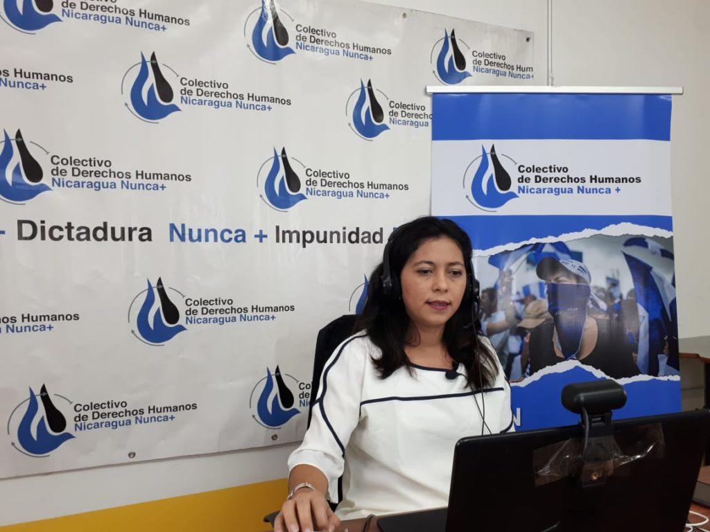 Wendy Flores, Colectivo Nicaragua Nunca Más